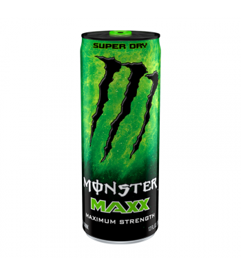 Monster Energy MAXX Super Dry Extra Strength - 12fl.oz (355ml) Soda and Drinks Monster