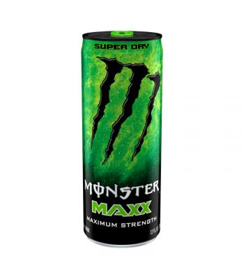 Monster Energy MAXX Super Dry Extra Strength - 12fl.oz (355ml) Soda and Drinks Monster