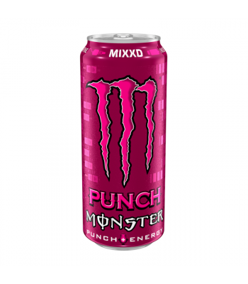 Monster Mixxd Fruit Punch - 500ml (EU) Soda and Drinks Monster