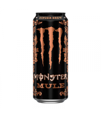 Monster Mule Ginger Brew - 16fl.oz (473ml) Soda and Drinks Monster