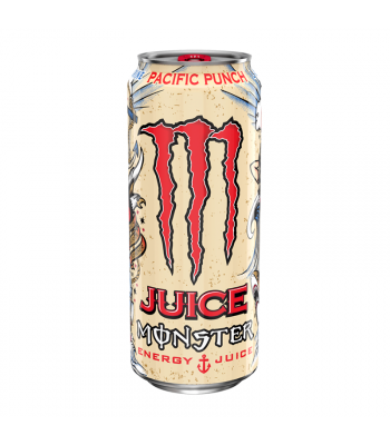 Monster Pacific Punch 16oz (473ml) Soda and Drinks Monster