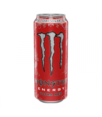 Monster Ultra Zero Red - 500ml (EU) Soda and Drinks Monster
