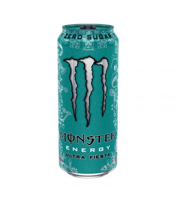 Monster Ultra Zero Fiesta - 16fl.oz (473ml) Soda and Drinks Monster