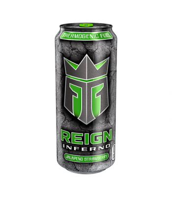 Reign Total Body Fuel Jalapeno Strawberry - 16oz (473ml) Soda and Drinks Monster