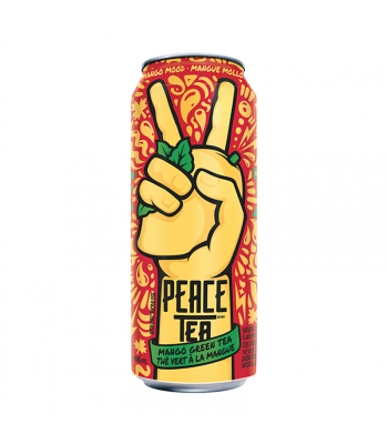 Peace Tea Mango Mood Green Tea (695ml) Soda and Drinks Coca Cola
