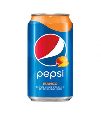 Pepsi Mango - 12fl.oz (355ml) Soda and Drinks Pepsi
