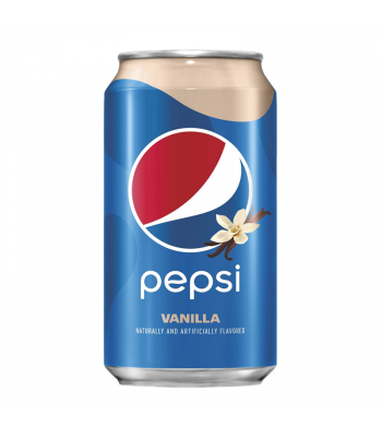 Pepsi Vanilla - 12fl.oz (355ml) Soda and Drinks Pepsi