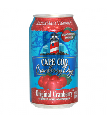 Polar Soda Cape Cod Cranberry - 12fl.oz (355ml) Soda and Drinks Polar