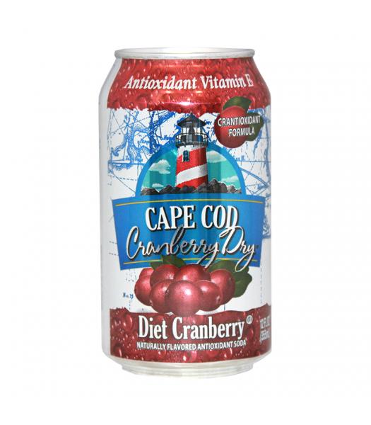 Polar Soda Cape Cod Diet Cranberry - 12fl.oz (355ml) Soda and Drinks Polar