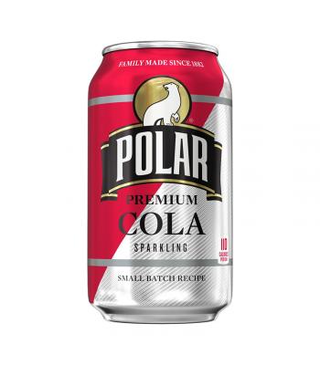 Polar Small Batch Recipe Premium Sparkling Cola - 12fl.oz (355ml) Soda and Drinks Polar