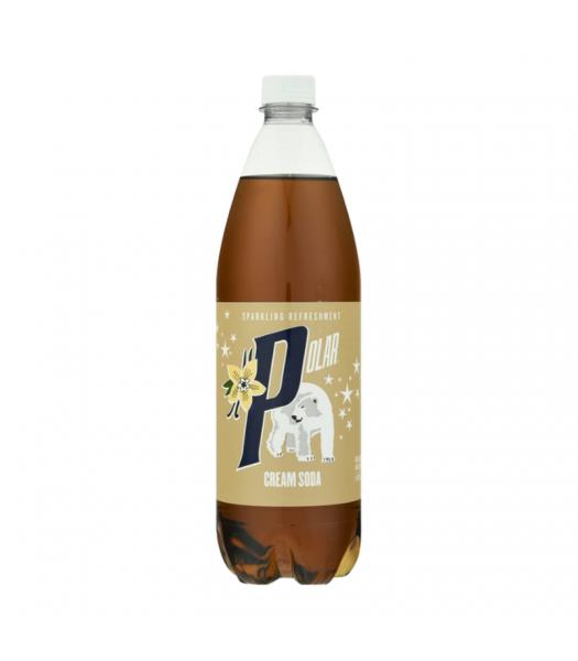 Polar Cream Soda - 33.8 fl.oz (1 Litre) Soda and Drinks Polar
