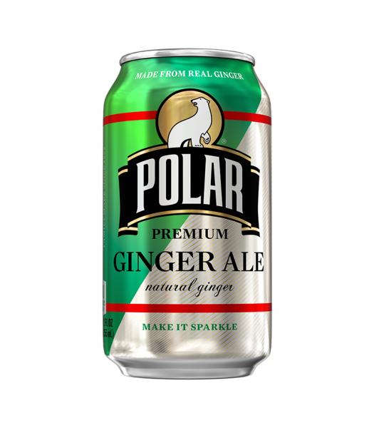 Polar Ginger Ale - 12fl.oz (355ml) Soda and Drinks Polar
