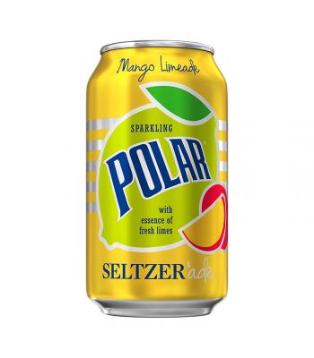 Polar Seltzer'Ade Mango Limeade - 12fl.oz (355ml) Soda and Drinks Polar