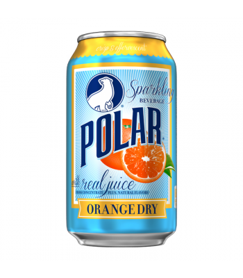 Polar Sparkling Beverage - Orange Dry - 12fl.oz (355ml)