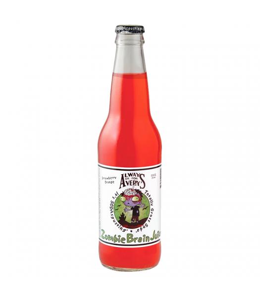 Rocket Fizz - Always Ask For Avery's Zombie Brain Juice Soda - 12fl.oz (355ml) Soda and Drinks Rocket Fizz