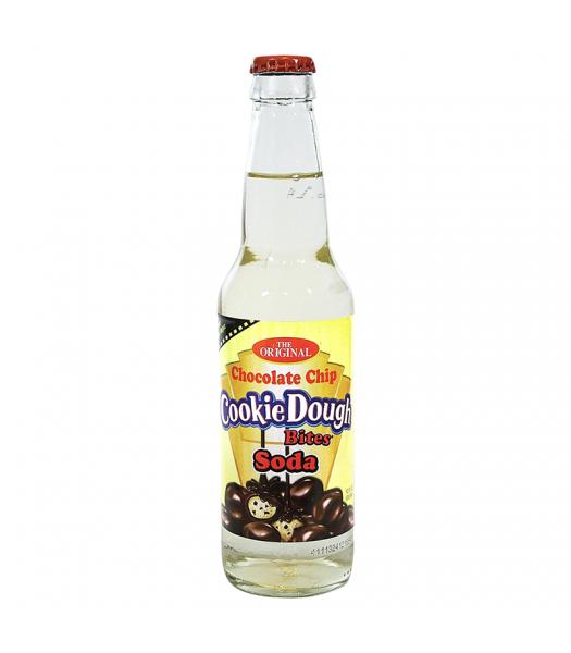 Rocket Fizz - Cookie Dough Bites Chocolate Chip Soda - 12fl.oz (355ml) Soda and Drinks Rocket Fizz