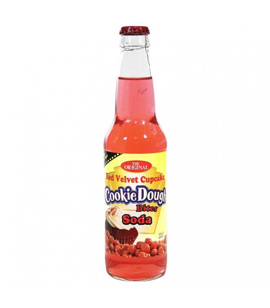 Rocket Fizz - Cookie Dough Bites Red Velvet Cupcake Soda - 12fl.oz (355ml) Soda and Drinks Rocket Fizz