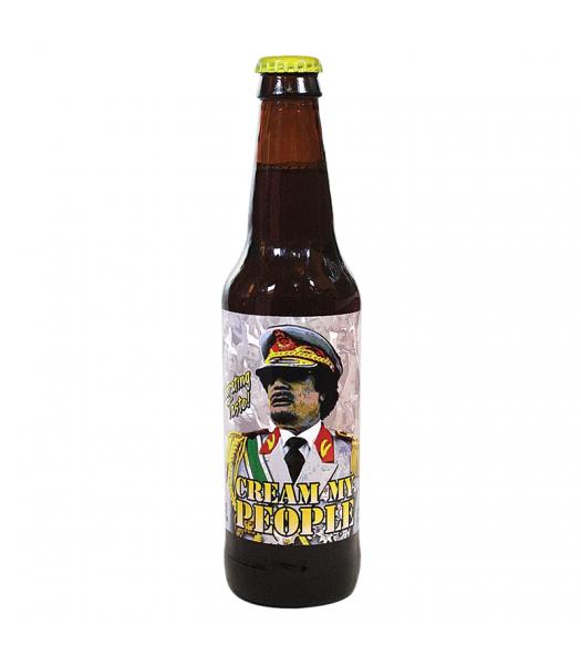 Rocket Fizz - Gaddafi's Cream My People Soda - 12fl.oz (355ml) Soda and Drinks Rocket Fizz