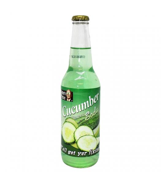 Rocket Fizz - Lester's Fixins Cucumber Soda - 12fl.oz (355ml) Soda and Drinks Rocket Fizz
