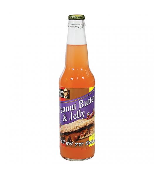 Rocket Fizz - Lester's Fixins Peanut Butter & Jelly Soda - 12fl.oz (355ml) Soda and Drinks Rocket Fizz