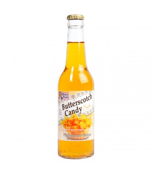 Rocket Fizz - Melba's Fixins Butterscotch Candy Soda - 12fl.oz (355ml) Soda and Drinks Rocket Fizz