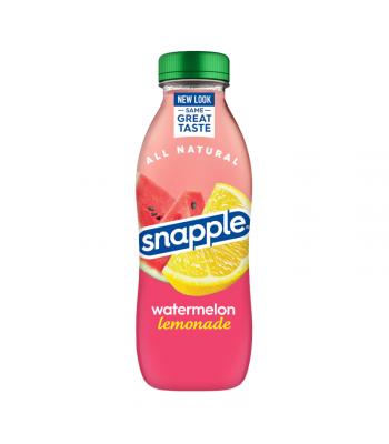 Snapple Watermelon Lemonade - 16fl.oz (473ml) Soda and Drinks Snapple