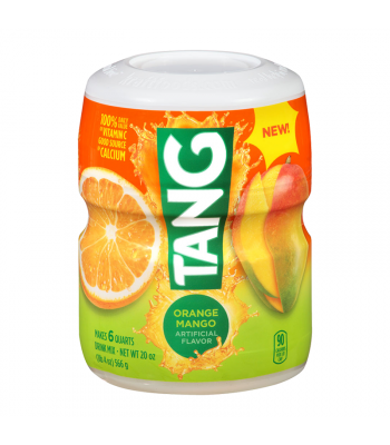 Tang Orange Mango Drink Mix 20oz (566g) Soda and Drinks