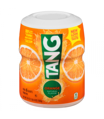 Tang Orange Drink Mix 20oz (566g) Drink Mixes