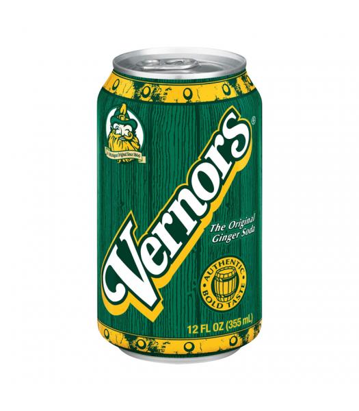 Vernors Ginger Ale Soda - 12fl.oz (355ml) Soda and Drinks