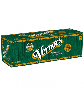 Vernors Ginger Ale Soda - 12-Pack (12 x 12fl.oz (355ml)) Soda and Drinks