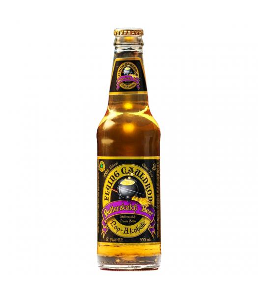 Flying Cauldron Butterscotch Beer Soda 12oz (355ml)