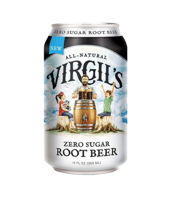 Virgil's Zero Sugar Root Beer Can - 12fl.oz (355ml) Soda and Drinks Virgil's