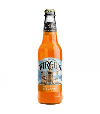 Virgil's All-Natural Handcrafted Orange Soda - 12fl.oz (355ml) Soda and Drinks Virgil's