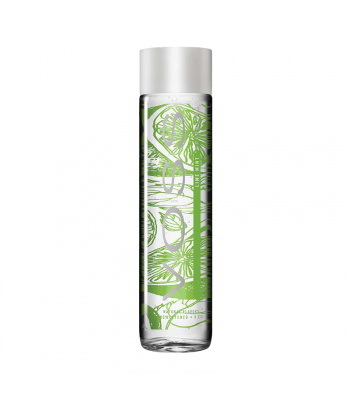 Voss Lime Mint Sparkling Water Glass Bottle 375ml