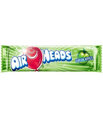 Airheads - Green Apple - 15.6g  Soft Candy AirHeads