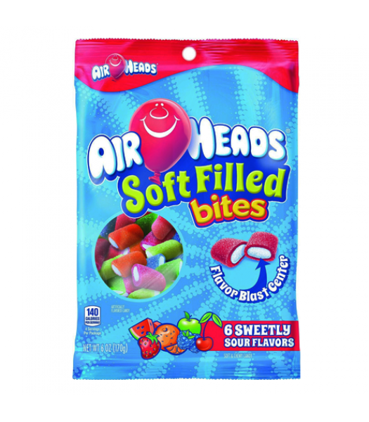 Airheads Soft Filled Bites - 6oz (170g) Sweets and Candy Airheads