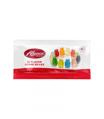 Albanese 12 Flavour Gummi Bears™ - 2oz (56.6g) Sweets and Candy Albanese