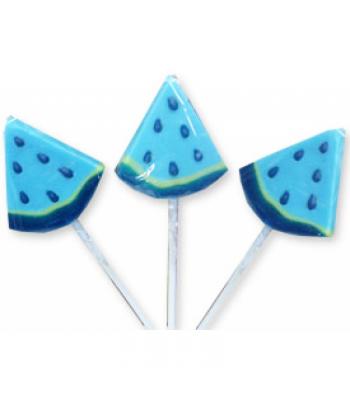 Albert's Blue Raspberry Wedge Lollipop Lollipops
