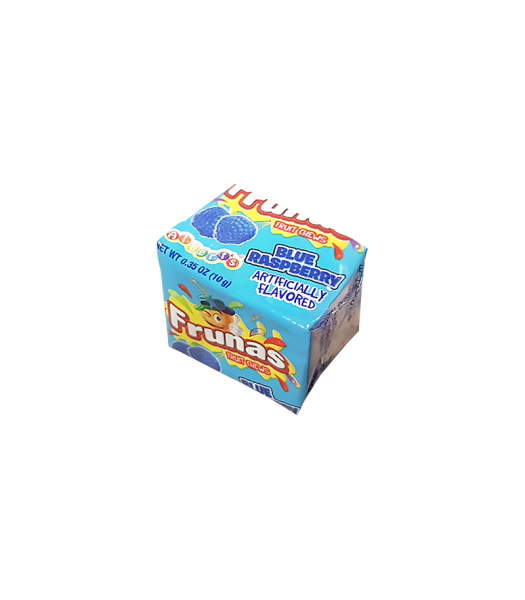 Albert's Frunas Fruit Chews Blue Raspberry 4pc - 0.35oz (10g) Sweets and Candy