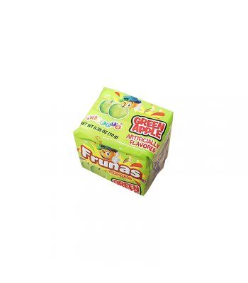 Albert's Frunas Fruit Chews Green Apple 4pc - 0.35oz (10g) Sweets and Candy
