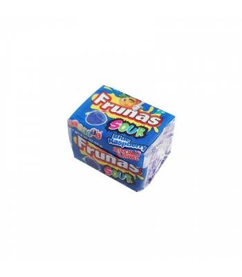 Alberts Frunas Sour Blue Raspberry - 0.35oz (10g) Sweets and Candy