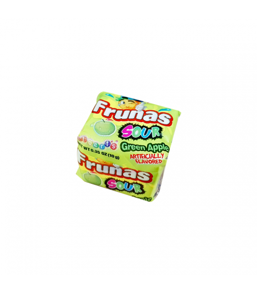 Alberts Frunas Sour Green Apple - 0.35 oz (18g) Sweets and Candy
