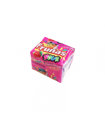 Alberts Frunas Sour Strawberry - 0.35oz (10g) Sweets and Candy