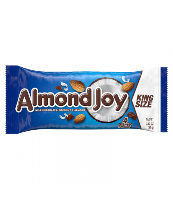 Hershey's Almond Joy Bar King Size 3.22oz (91g) Chocolate, Bars & Treats Hershey's