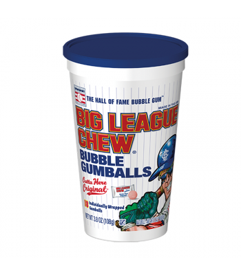 Big League Chew Gumballs Stadium Cup - 3.8oz (108g) Sweets and Candy Big League Chew