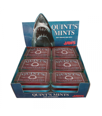 JAWS Quint's Mints - 1.5oz (42.5g) Sweets and Candy Boston America