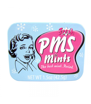 PMS Mints  - 1.5oz (42.5g) Sweets and Candy Boston America