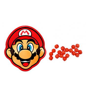 Mario Brick Breaking Candy Tin 0.8oz (22.6g) Sweets and Candy