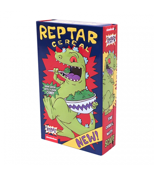 Rugrats Reptar Cereal Candy Tin - 1.2oz (34g) Sweets and Candy Boston America