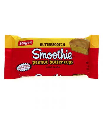 Boyer Butterscotch Smoothie Peanut Butter Cups 1.6oz (45.3g) Sweets and Candy